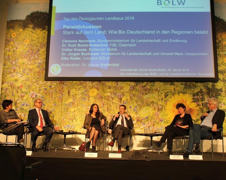 Tag des Ökologischen Landbaus auf der Internationalen Grünen Woche