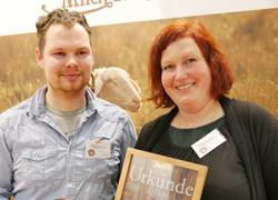 Anja Wolff und Frank Böhner, Jakobsberger Milchhandwerker, Foto: K.Kempkens, LWK NRW