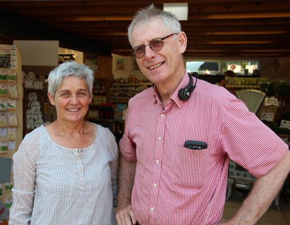 Haben schon früh auf Bio gesetzt: Seit 35 Jahren führen Gabi Leick und Willi Bolten den Biohof in Niederkrüchten. Fotos: Christiane Närmann-Bockholt
