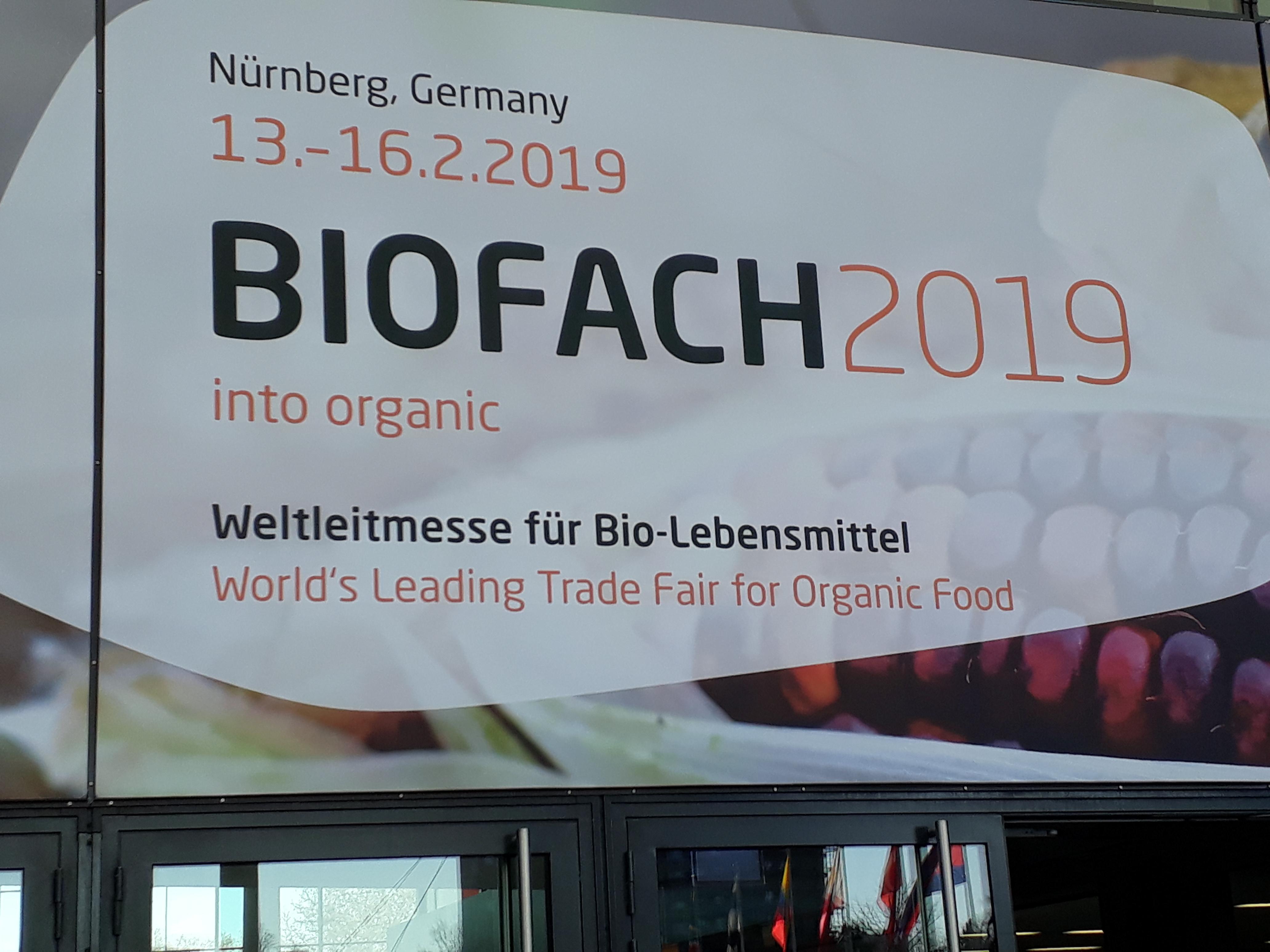 Die Biofach Nürnberg ist die weltgrößte Messe für Biolebensmittel, Foto: Dr. Karl Kempkens, Landwirtschaftskammer NRW