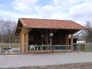Kälberstall in Riswick, Foto : Dr. Karl Kempkens, LWK NRW