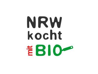 Logo NRW kocht mit Bio