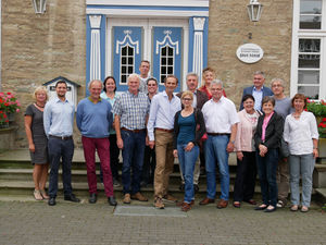 Gruppenbild der Teilnehmer des Dialogforums Haus Düsse, Foto: LWK NRW