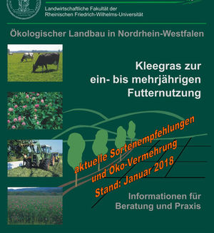 Cover Kleegrasbroschüre 25. Auflage